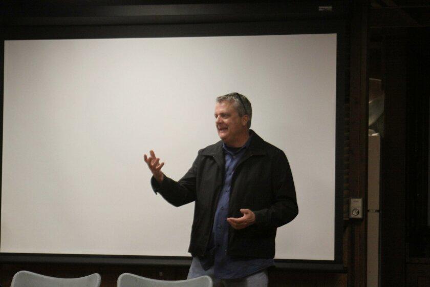 San Diego field engineer Steve Lindsay