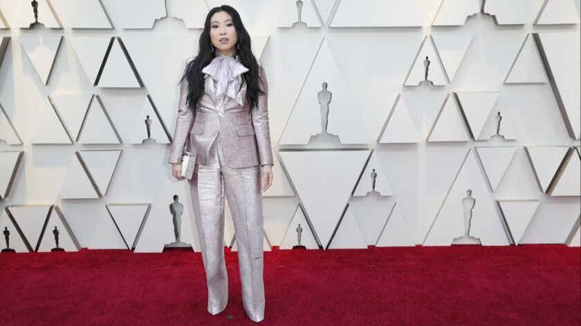 HOLLYWOOD, ?CA ? February 24, 2019 Awkwafina during the arrivals at the 91st Academy Awards on Sun