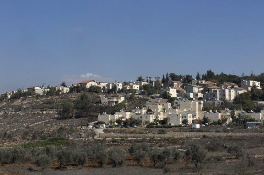 Beit El settlement in the West Bank