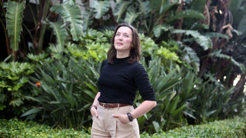 LOS ANGELES, CA-JUNE 12, 2019: Cornelia Geppert, the CEO of game studio Jo-Mei, poses for a portrai