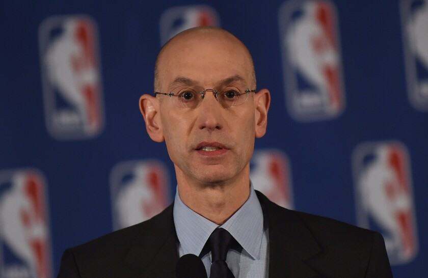 NBA Commissioner Adam Silver: Shocked and distraught about Sterling, but did he have a right to be?