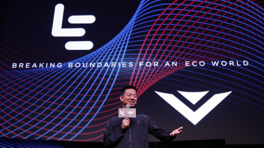 Jia Yueting leads Chinese technology giant LeEco, which is buying Vizio for $2 billion.