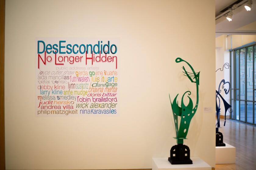 DesEscondido/No Longer Hidden: Public Address Art Exhibition.