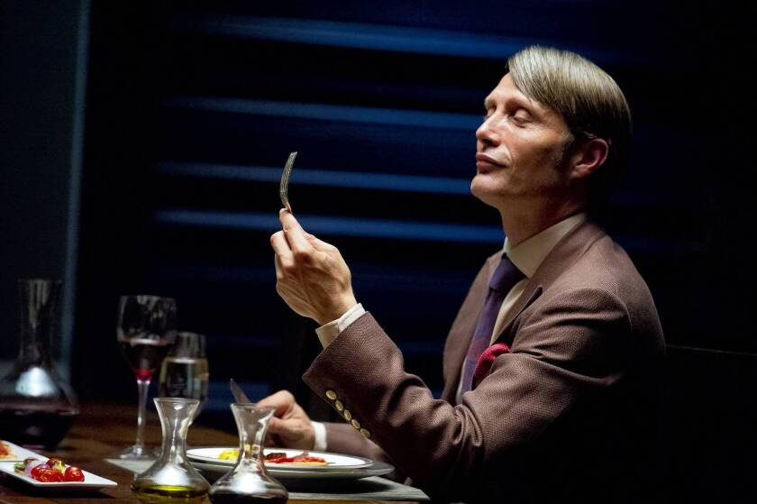 "Mads Mikkelsen is Dr. Hannibal Lecter in NBC's ""Hannibal."""