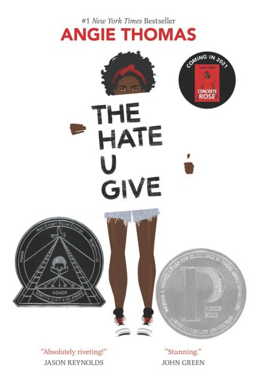 """""""The Hate U Give"""" by Angie Thomas"""