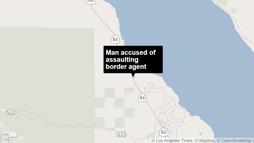 A Coachella man has been indicted for trying to run over a U.S. Border Patrol agent during a pursuit, according to the FBI.