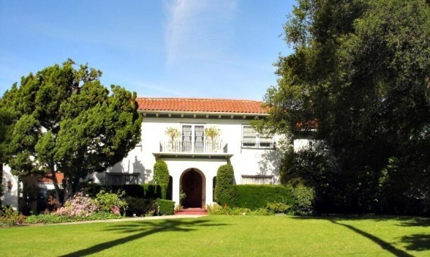 The Glendale estate built for baseball legend Casey Stengel was completed in 1925.