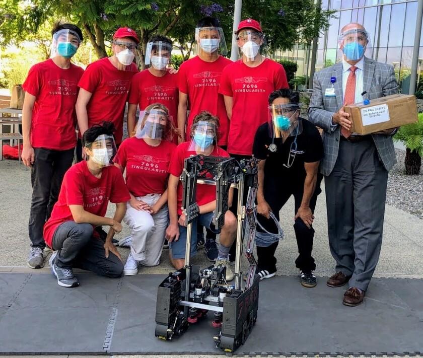 Team Singularity at Palomar Hospital