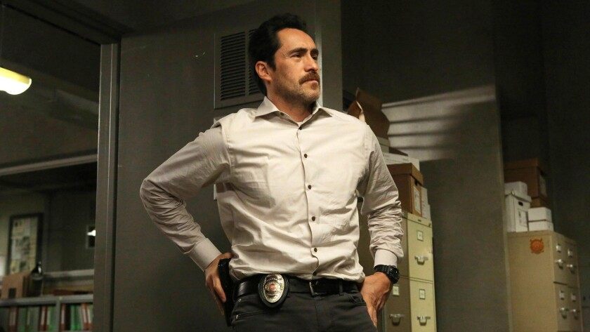"Demián Bichir plays a homicide detective from south of the border in ""The Bridge"" on FX."