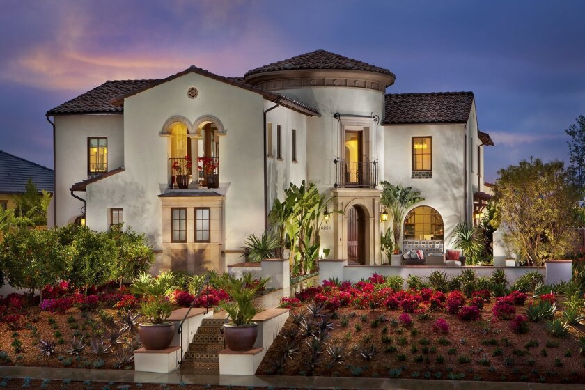 The residential project of the year was Pardee Homes' Alta Del Mar in Carmel Valley. Its plan 3, seen here, won the grand award for best single-family home over 4,000 square feet.