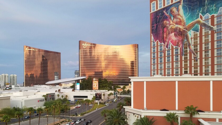 The Wynn and Encore resorts in Las Vegas.