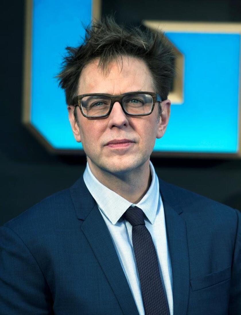 """El reparto de la saga """"Guardians of the Galaxy"""" pidió hoy a través de una carta publicada en las redes sociales el regreso de James Gunn como director de la tercera entrega de la franquicia, después de que el estudio Disney lo despidiera por comentarios inapropiados en Twitter. EFE/ARCHIVO"""