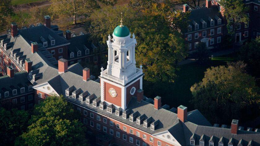 Editorial: A collision of values: Does Harvard cheat Asian-American applicants?