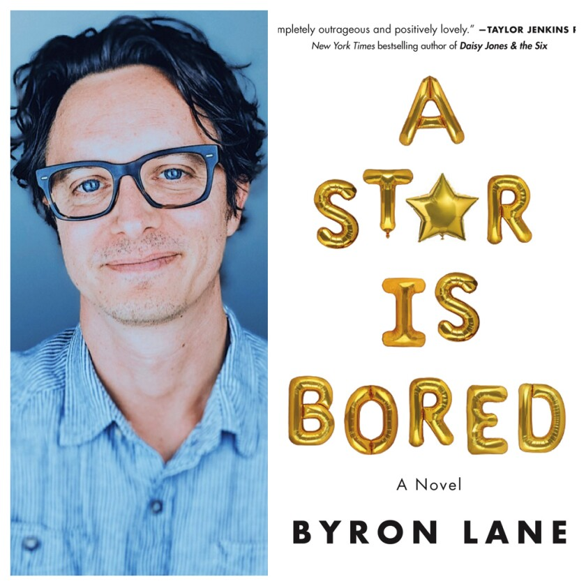 """Byron Lane, ex-assistant to Carrie Fisher and author of """"A Star Is Bored."""""""