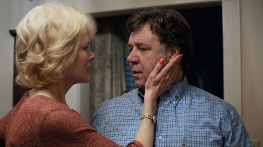 "Nicole Kidman and Russell Crowe in Joel Edgerton's drama ""Boy Erased,"" a Focus Features release that will have its international premiere at the Toronto International Film Festival."