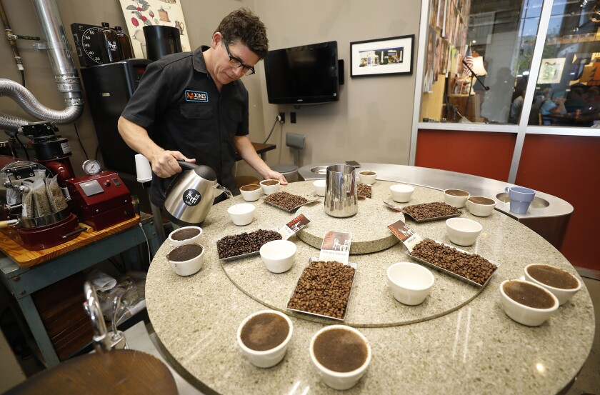Chuck Jones of Jones Coffee Roasters