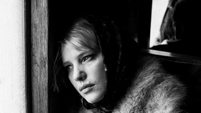 "Still of Joanna Kulig in the movie ""Cold War"" directed by Polish film director Pawel Pawlikowski. Cr"