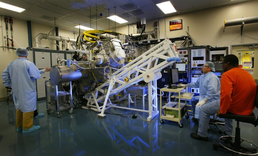Cymer, which was purchased by ASML in March, is adding clean room manufacturing space in San Diego and elsewhere for its complex lasers used in semiconductor production.