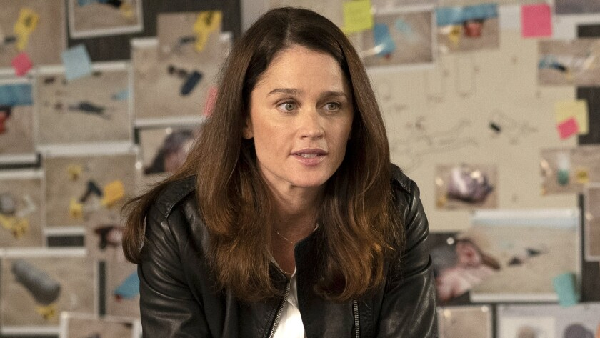 """Robin Tunney in """"The Fix"""" on ABC."""