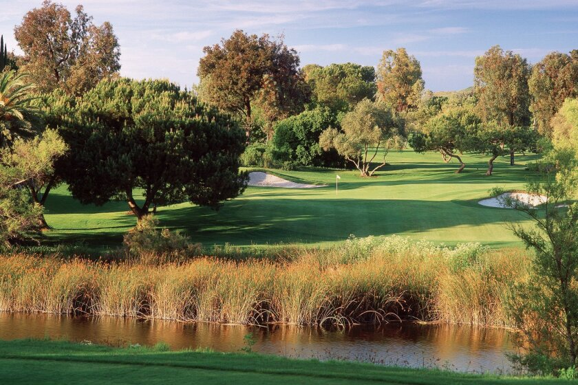 The No. 4 hole at Rancho Bernardo Inn is part of the irrigation upgrade.