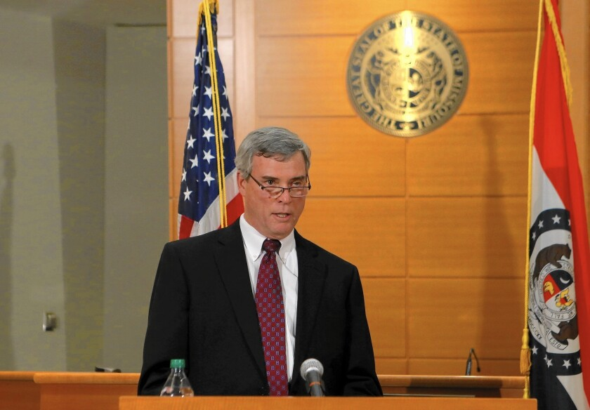 Robert McCulloch, St. Louis County prosecuting attorney.