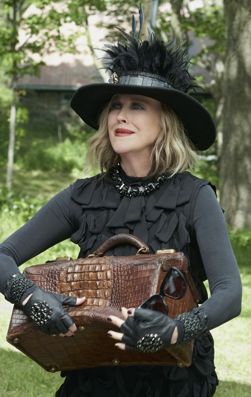 "Catherine O'Hara as Moira Rose in ""Schitt's Creek."""