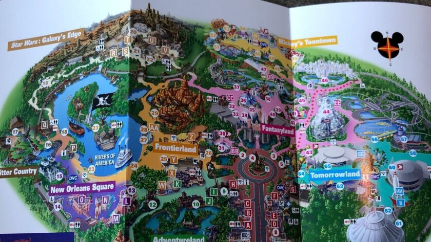 Here's the new map of Disneyland with Star Wars: Galaxy's ... on disney world map app, disneyland street map, six flags map app,