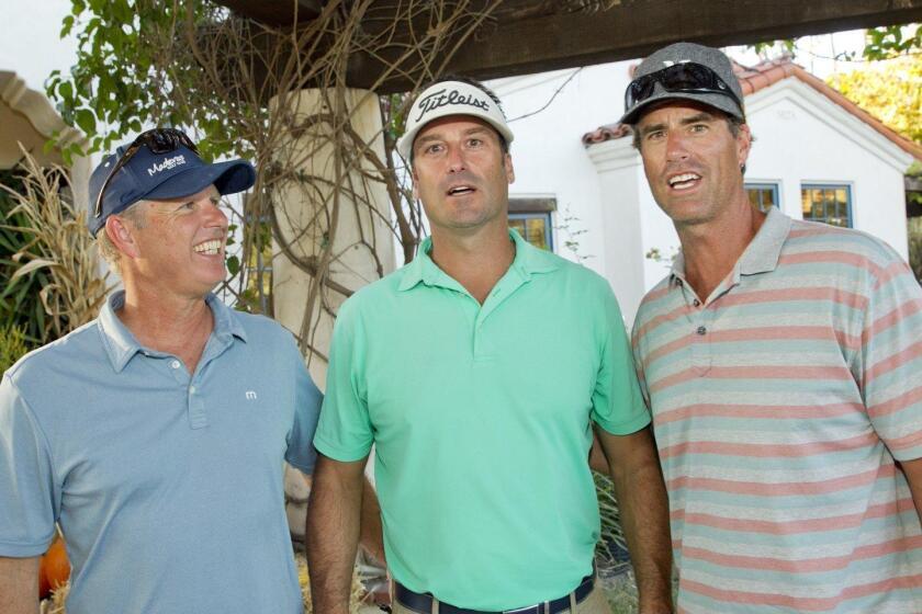 Stu Schouten, Jeff Daley, Travis Lee