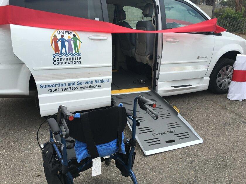"The ""Foxy Flyer,"" a wheelchair-accessible van."