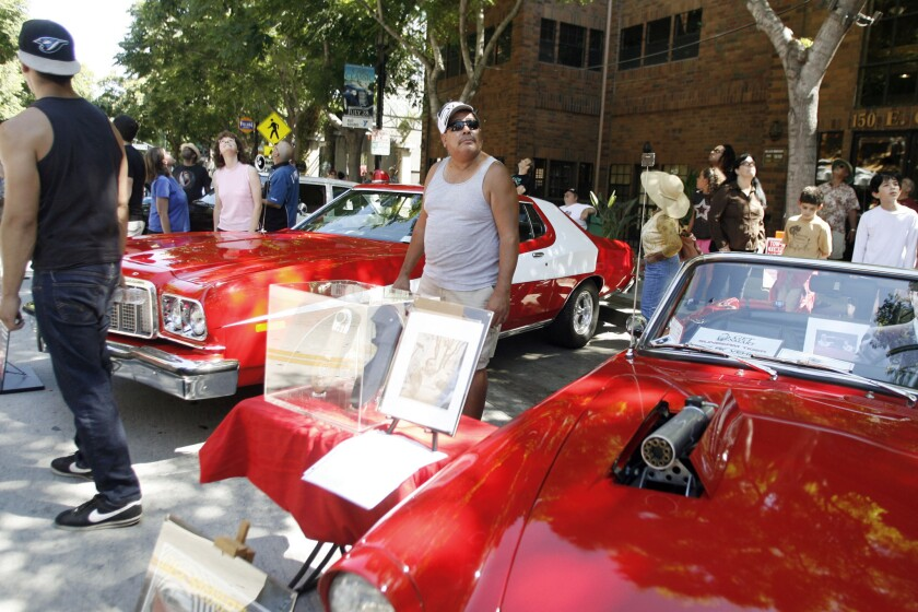 Enthusiasts get revved up for Burbank Car Classic