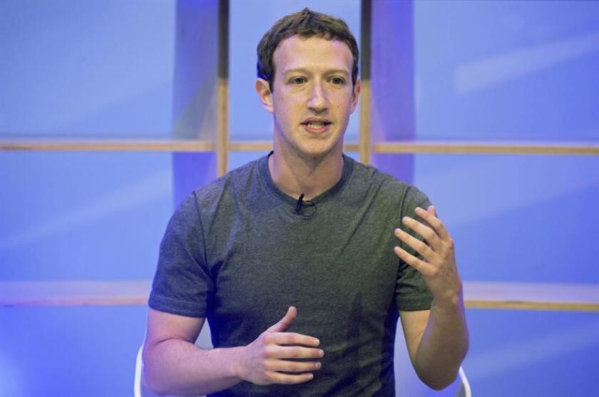 El creador de Facebook, Mark Zuckerberg. EFE/Archivo