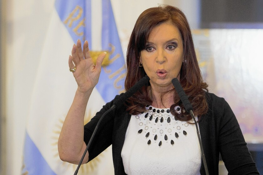 Former Argentine president Cristina Fernández de Kirchner, now vice president, has come out in support of Netflix's new docuseries about the death of Alberto Nisman.
