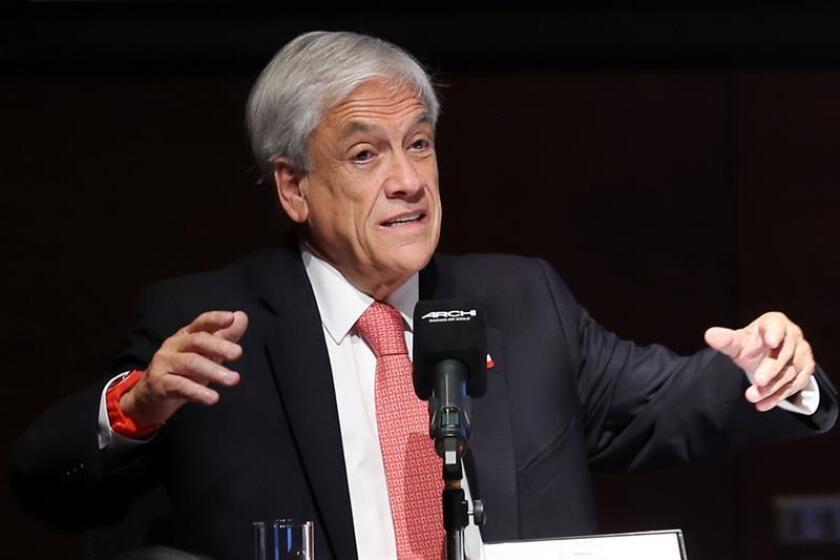 Piñera felicita a López Obrador y le desea éxito deportivo y en el Gobierno