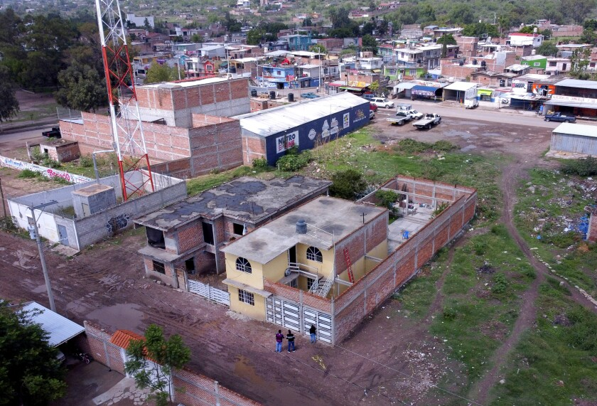The drug rehabilitation center that was attacked in Irapuato, Mexico.