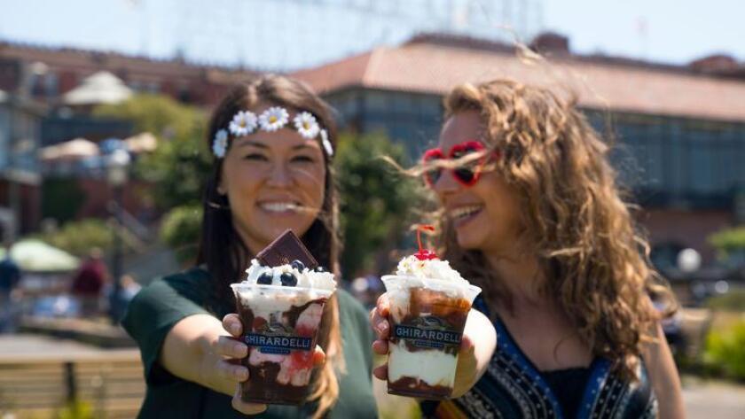 Celebrate the Summer of Love with the Haight Ashberry Sundae. (Jake Landon Schwartz)