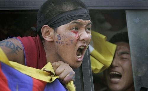Protests over Tibet