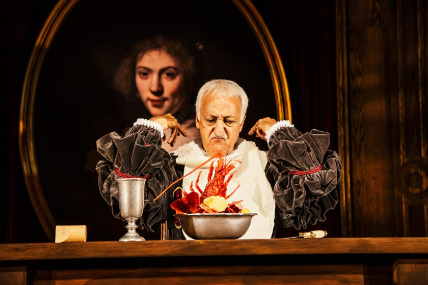"""Brian George in """"Witch"""" at Geffen Playhouse."""
