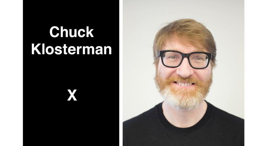 Chuck Klosterman and his new book.