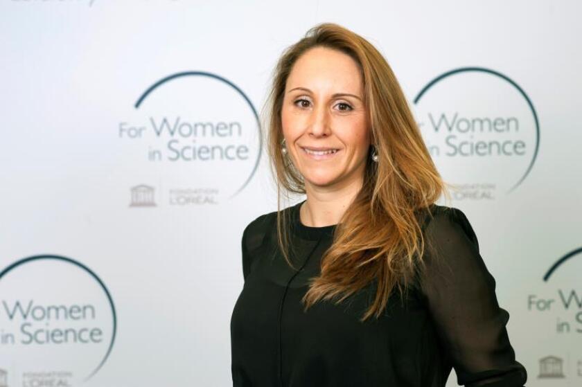Fotografía facilitada por L'Oréal de la española Biola María Javierre que ha sido reconocida este jueves, por la Fundación L'Oréal y la Unesco como una de las investigadoras jóvenes más prometedoras del mundo, galardón del que ha hablado con la Agencia EFE. EFE