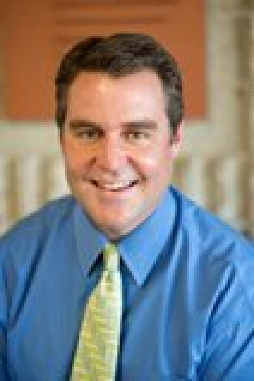 New Torrey Pines High School Principal Rob Coppo.