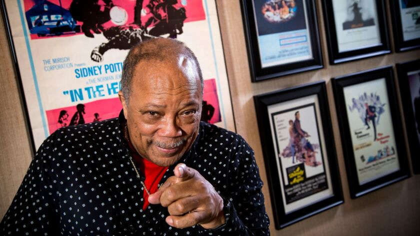 BEL AIR, CA - MARCH 20, 2014 - Legendary composer, musician, producer, activist Quincy Jones at his