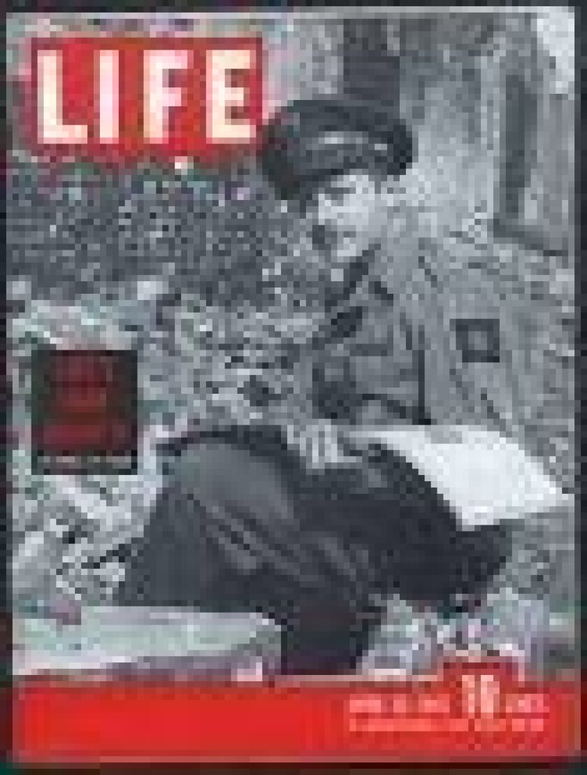 A 1945 edition of Life magazine featured artist Aaron Bohrod as a World War II correspondent.