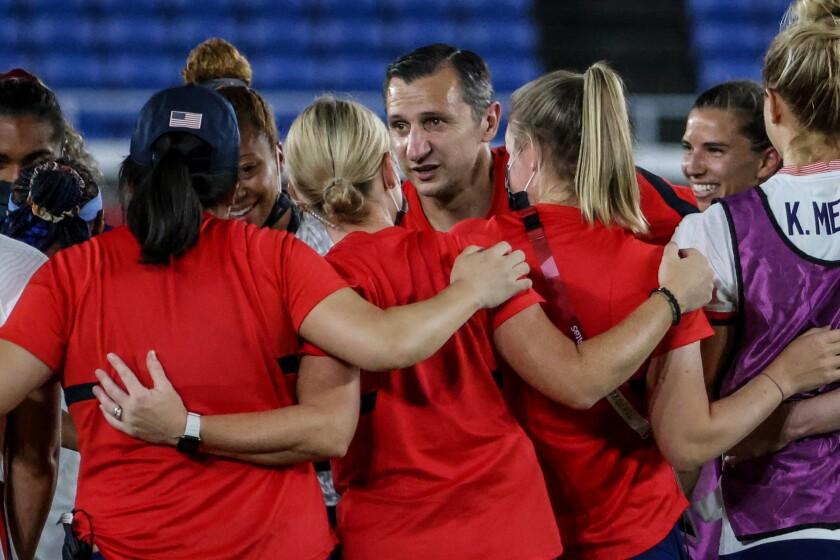 USA coach Vlatko Andonovski