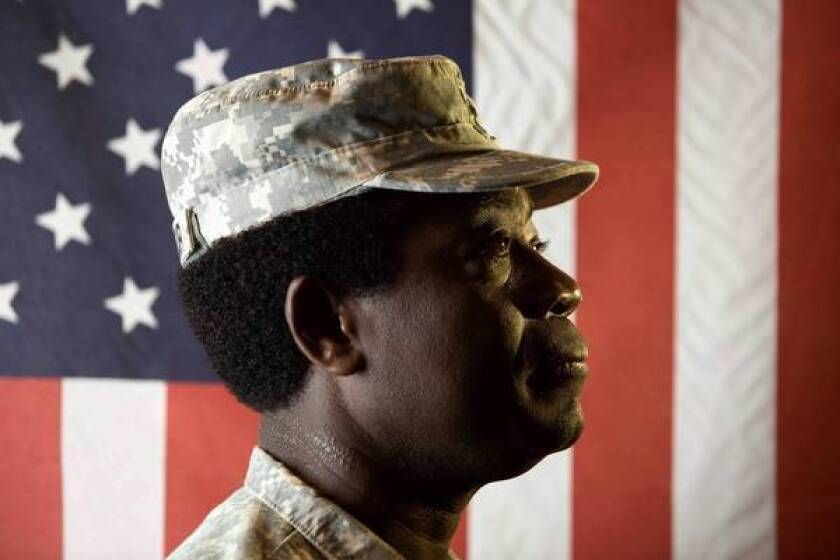 """I felt betrayed,"""" said Pierre Saint-Fleur, a former Fresno County mental health worker who said he was forced into early retirement after three deployments to Iraq as a military chaplain in the California National Guard."""