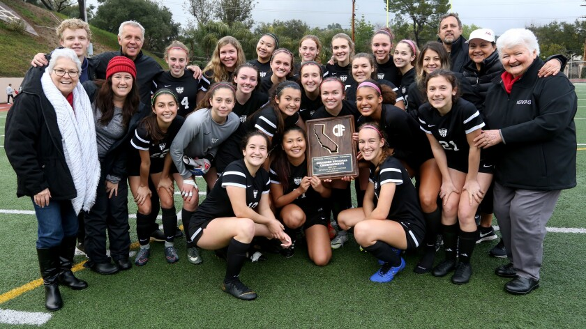 Photo Gallery: Flintridge Sacred Heart Academy wins CIF State Div. III So.Cal regional soccer championship
