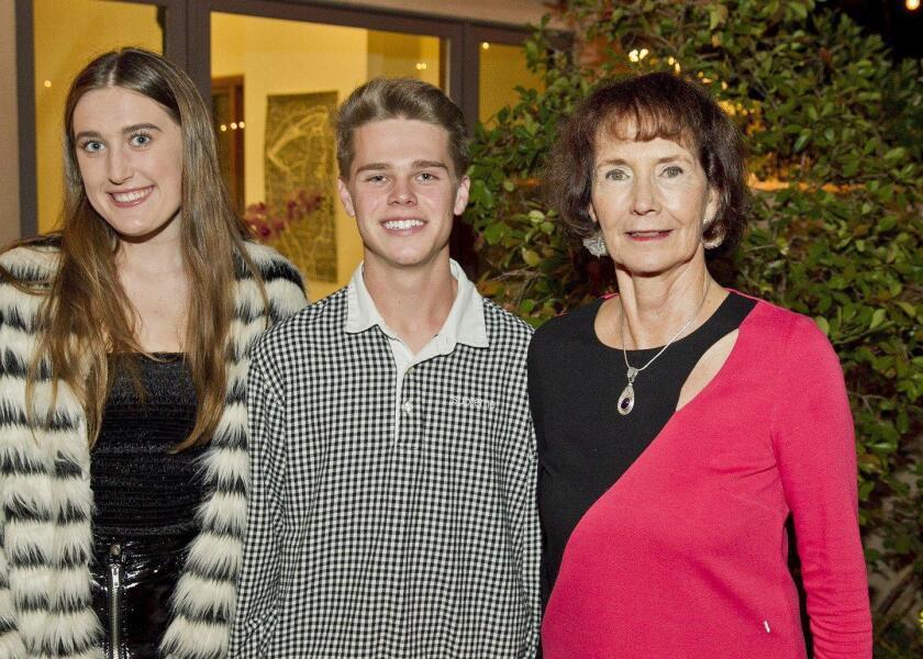 Lindsay Martin, Liam Brandt, Ann Sergott