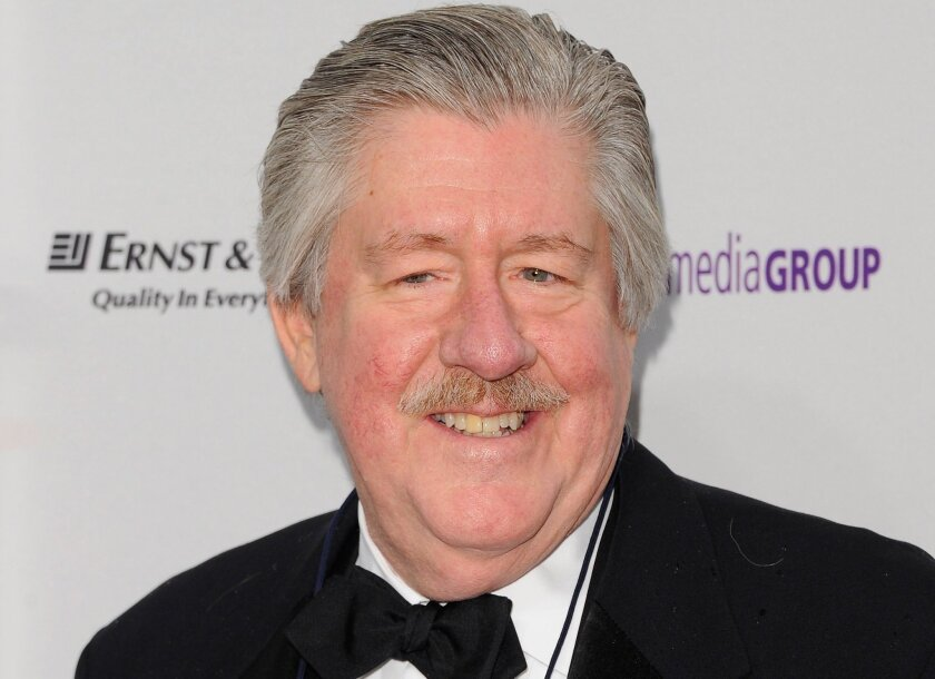 Actor Edward Herrmann attends the Emmy Awards in New York in 2011.