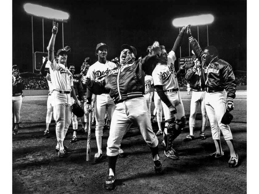 The Los Angeles Dodgers' 1983 season resembled a roller coaster.