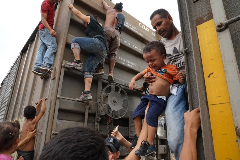 FG Migrants Train Mexico