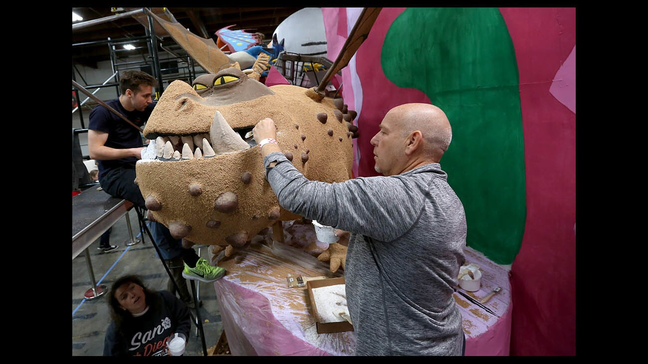 Photo Gallery: Dreamworks' Dragon float, Tournament of Roses Sip and Savor event at Rosemont Pavilion Pasadena